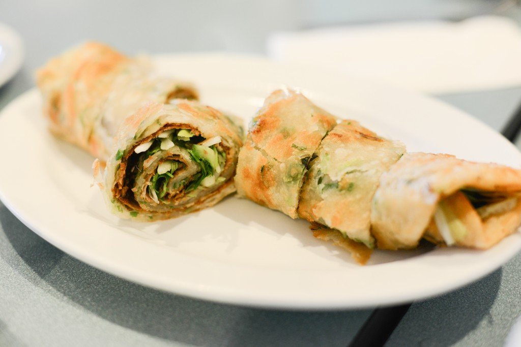 Chinese Beef Roll.